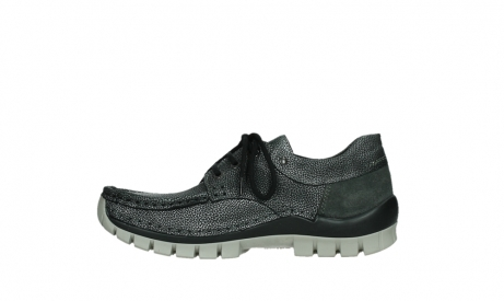 wolky chaussures a lacets 04726 fly winter 81280 cuir gris meacutetal_13
