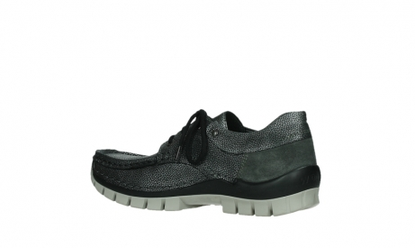 wolky chaussures a lacets 04726 fly winter 81280 cuir gris meacutetal_15