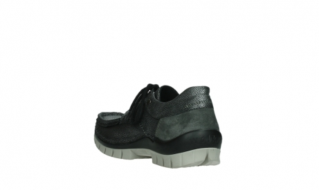 wolky chaussures a lacets 04726 fly winter 81280 cuir gris meacutetal_17