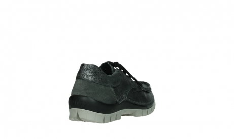 wolky chaussures a lacets 04726 fly winter 81280 cuir gris meacutetal_21