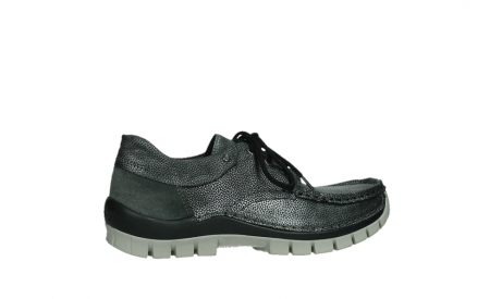 wolky chaussures a lacets 04726 fly winter 81280 cuir gris meacutetal_24