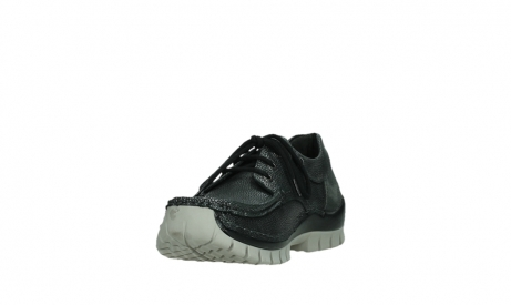 wolky chaussures a lacets 04726 fly winter 81280 cuir gris meacutetal_9