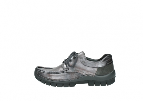 wolky lace up shoes 04726 fly winter 90210 anthracite metallic leather_1