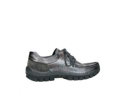 wolky lace up shoes 04726 fly winter 90210 anthracite metallic leather_12