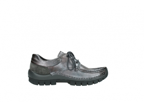wolky lace up shoes 04726 fly winter 90210 anthracite metallic leather_13