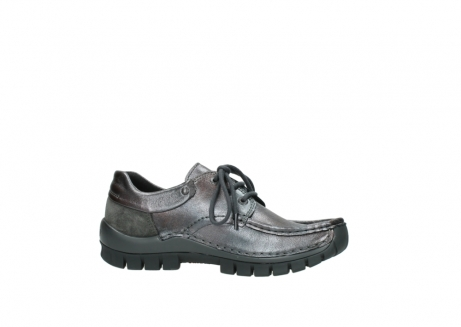 wolky lace up shoes 04726 fly winter 90210 anthracite metallic leather_14
