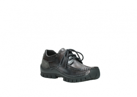 wolky lace up shoes 04726 fly winter 90210 anthracite metallic leather_16