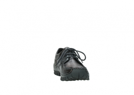 wolky lace up shoes 04726 fly winter 90210 anthracite metallic leather_18