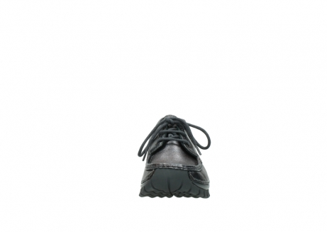 wolky lace up shoes 04726 fly winter 90210 anthracite metallic leather_19
