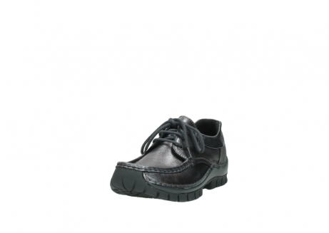 wolky lace up shoes 04726 fly winter 90210 anthracite metallic leather_21