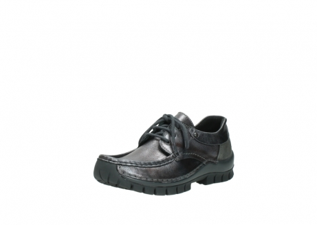wolky lace up shoes 04726 fly winter 90210 anthracite metallic leather_22