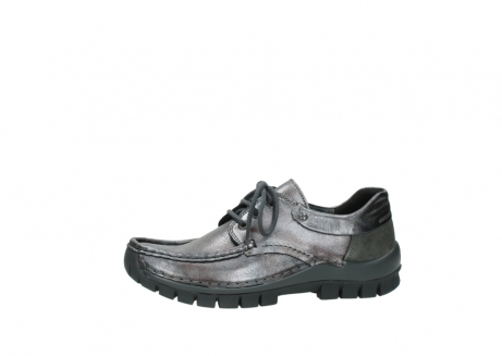 wolky lace up shoes 04726 fly winter 90210 anthracite metallic leather_24