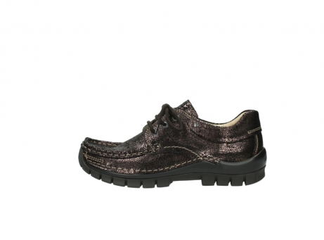 wolky chaussures a lacets 04726 fly winter 90300 cuir marron_1
