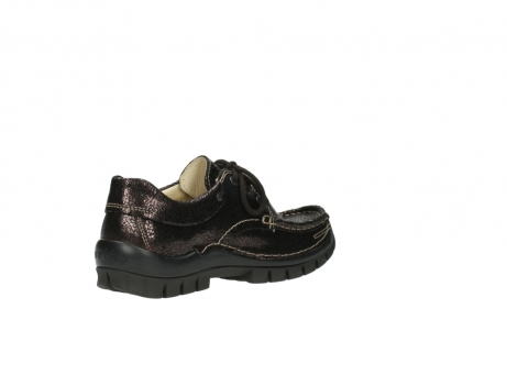 wolky chaussures a lacets 04726 fly winter 90300 cuir marron_10