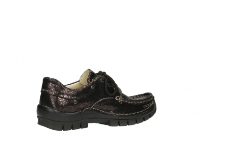 wolky chaussures a lacets 04726 fly winter 90300 cuir marron_11