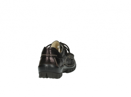 wolky chaussures a lacets 04726 fly winter 90300 cuir marron_8