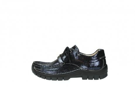 wolky chaussures a lacets 04726 fly winter 90800 cuir bleu_1