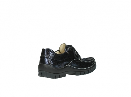 wolky chaussures a lacets 04726 fly winter 90800 cuir bleu_10