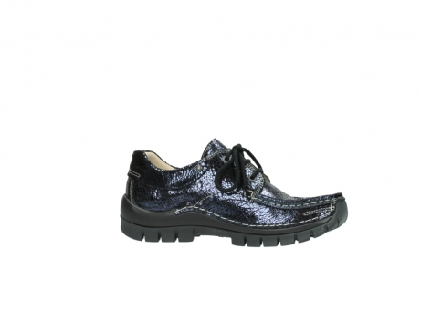 wolky chaussures a lacets 04726 fly winter 90800 cuir bleu_14