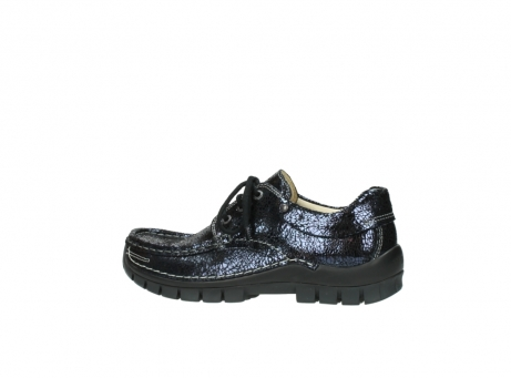 wolky chaussures a lacets 04726 fly winter 90800 cuir bleu_2