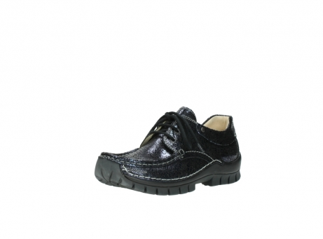 wolky chaussures a lacets 04726 fly winter 90800 cuir bleu_22