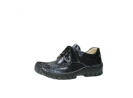 wolky chaussures a lacets 04726 fly winter 90800 cuir bleu_23