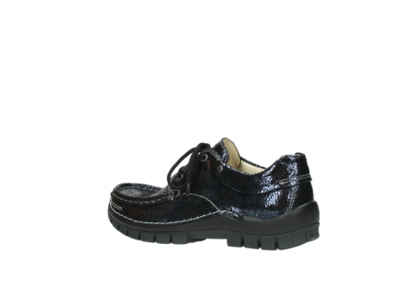 wolky chaussures a lacets 04726 fly winter 90800 cuir bleu_3