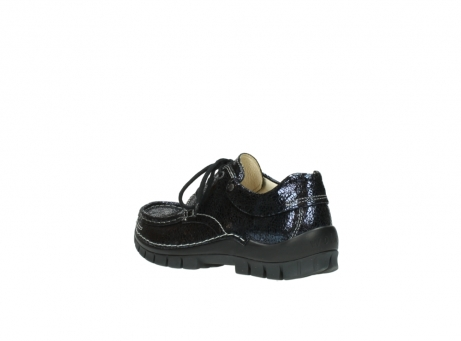 wolky chaussures a lacets 04726 fly winter 90800 cuir bleu_4