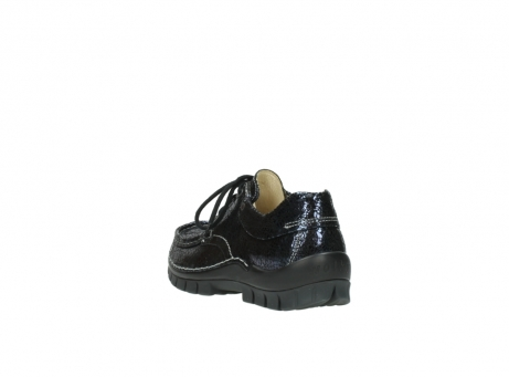 wolky chaussures a lacets 04726 fly winter 90800 cuir bleu_5