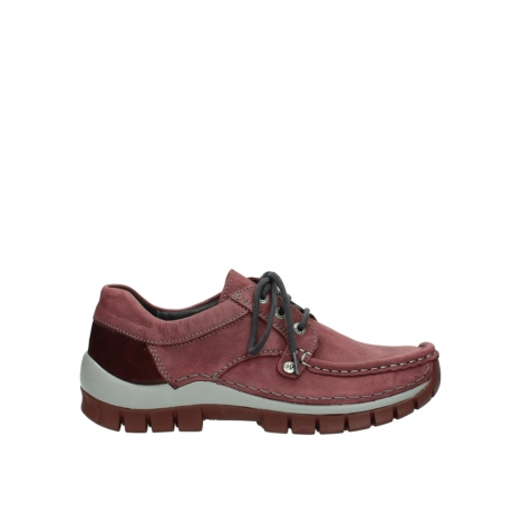 wolky veterschoenen 04734 seamy fly 10510 bordeaux nubuck
