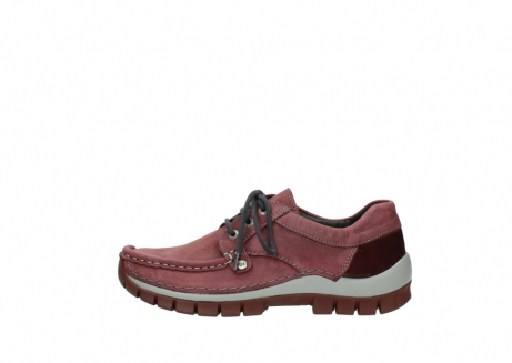 wolky veterschoenen 04734 seamy fly 10510 bordeaux nubuck_1