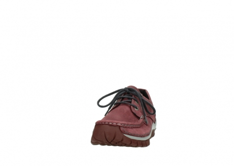 wolky veterschoenen 04734 seamy fly 10510 bordeaux nubuck_20