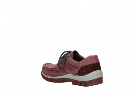 wolky veterschoenen 04734 seamy fly 10510 bordeaux nubuck_4