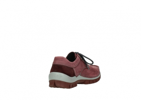 wolky veterschoenen 04734 seamy fly 10510 bordeaux nubuck_9
