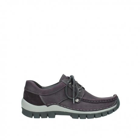 wolky lace up shoes 04734 seamy fly winter 10600 purple nubuck
