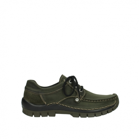 wolky veterschoenen 04734 seamy fly 11732 forestgroen geolied nubuck