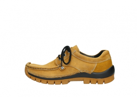 wolky chaussures a lacets 04734 seamy fly winter 11932 nubuck jaune_1