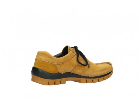 wolky chaussures a lacets 04734 seamy fly winter 11932 nubuck jaune_11