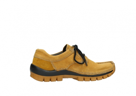wolky chaussures a lacets 04734 seamy fly winter 11932 nubuck jaune_12