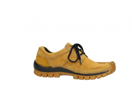 wolky chaussures a lacets 04734 seamy fly winter 11932 nubuck jaune_14