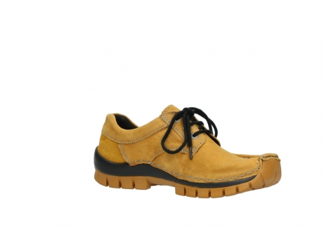 wolky chaussures a lacets 04734 seamy fly winter 11932 nubuck jaune_15