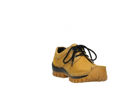 wolky chaussures a lacets 04734 seamy fly winter 11932 nubuck jaune_17