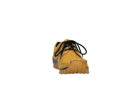 wolky chaussures a lacets 04734 seamy fly winter 11932 nubuck jaune_18