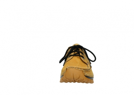 wolky chaussures a lacets 04734 seamy fly winter 11932 nubuck jaune_19