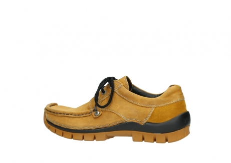wolky chaussures a lacets 04734 seamy fly winter 11932 nubuck jaune_2