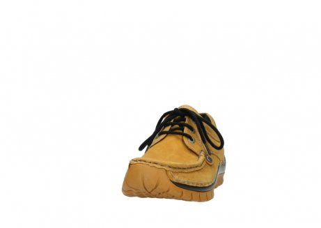 wolky chaussures a lacets 04734 seamy fly winter 11932 nubuck jaune_20