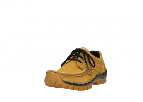 wolky chaussures a lacets 04734 seamy fly winter 11932 nubuck jaune_21
