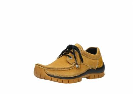 wolky chaussures a lacets 04734 seamy fly winter 11932 nubuck jaune_22