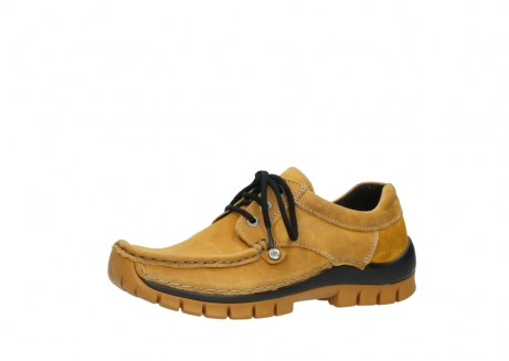 wolky chaussures a lacets 04734 seamy fly winter 11932 nubuck jaune_23