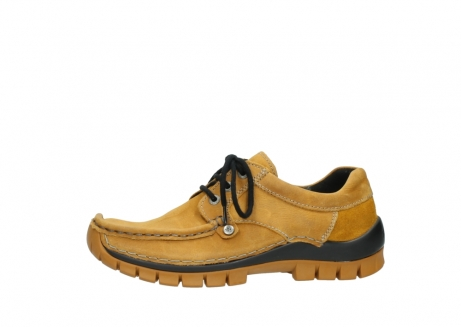 wolky chaussures a lacets 04734 seamy fly winter 11932 nubuck jaune_24